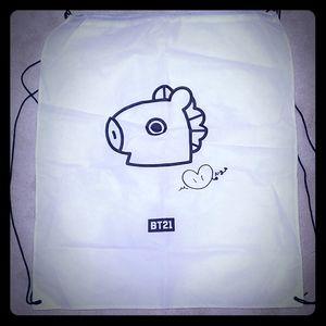 BT21 Mang drawstring backpack/bag